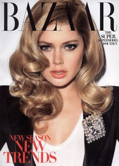 Doutzen Kroes, Harper's Bazaar July 2009 Cover (subscribers' cover), by Terry Richardson