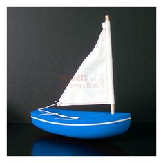 Le voilier Tirot qui navigue pour de vrai.