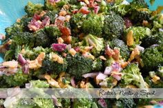 Ruby Tuesday's Broccoli Salad! Recipe Here: http://rubytuesdayrecipes.blogspot.com/2009/07/ruby-tuesday-broccoli-salad.html