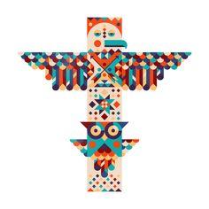Totem on Pinterest | Totems, Totem Poles and Tribal Art