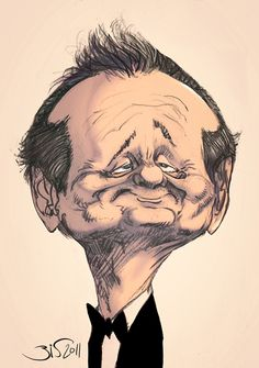 Bill Murray by ~Bisart on deviantART