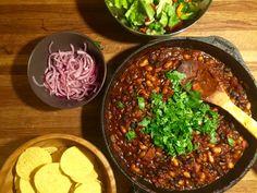 Jävligt Gotts BBQ Baked Beans | Jävligt gott - en blogg om vegetarisk mat och vegetariska recept för alla, lagad enkelt och jävligt gott.