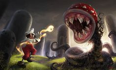 Super Mario Fan Art Created by Reiko Gross Website || Facebook...
