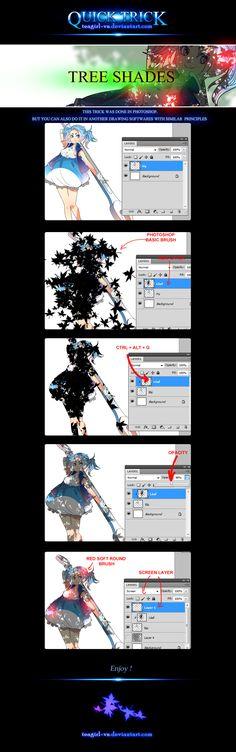 [Quick Trick] Tree Shades by teagirl-vn.deviantart.com on @deviantART