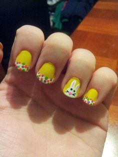 **My Easter nails 2013**