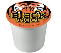Coffee People Black Tiger Keurig K-Cups Available at CapeJava.com
