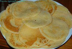 Pancakes légers au fromage blanc