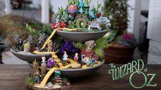 El jardín de hadas del mago de Oz // respuesta del jardín