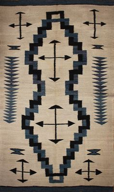 native american Patterns | ... American Indian (Navajo) carpet with geometric tribal arrow pattern