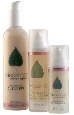 Miessence Rejuvenating Skin Essentials Pack. $111.85
