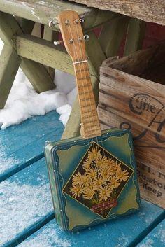 Antebellum Instruments: c.1930/2014 Candy Tin Soprano Ukulele   Uke Can Play!