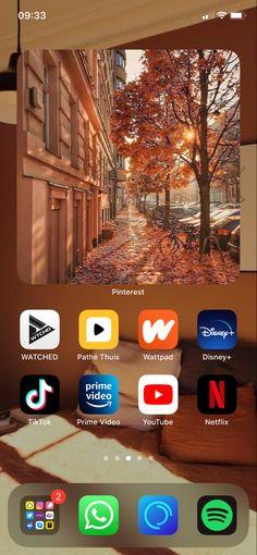 Autumn Aesthetic, Homescreen, Desktop Screenshot