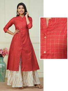 New Arrival Kurtis Online in India Salwar Designs, Printed Kurti Designs, Silk Kurti Designs, Simple Kurta Designs, Kurta Designs Women, Kurti Designs Party Wear, Blouse Designs, Latest Kurti Designs, Frock Design