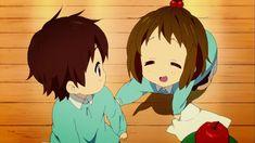 Yui Hirasawa Y Nodoka Manabe Pequeñas