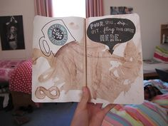 Wreck This Journal - Pour, spill, drip, spit, fling your coffee here.