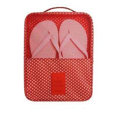 Multifunction Shoes Bags - Red Classic - KORENKAB #korenkab #bags #shoesbags…