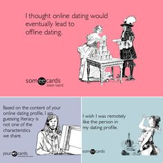 The Funny Business of Online Dating