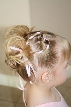 I'm going to attempt this today on my nieces hair..... SO CUTE!