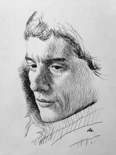 Ayrton Senna sketch