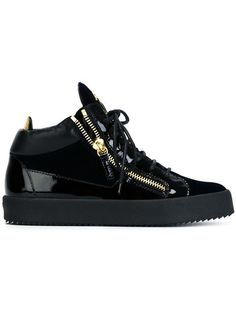 Shop Giuseppe Zanotti Design 'Kriss' hi-top sneakers in Luisa Boutique from the world's best independent boutiques at farfetch.com. Shop 400 boutiques at one address.