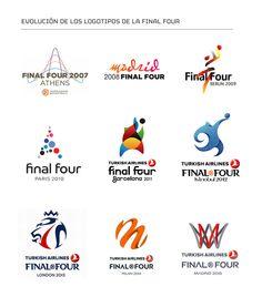 Logos final four Euroliga de baloncesto