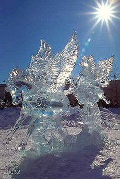 Winterlude ice sculpture                                                                                                                                                                                 More