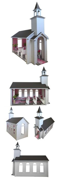 Barbie's wedding chapel. Get ready for the big day!!