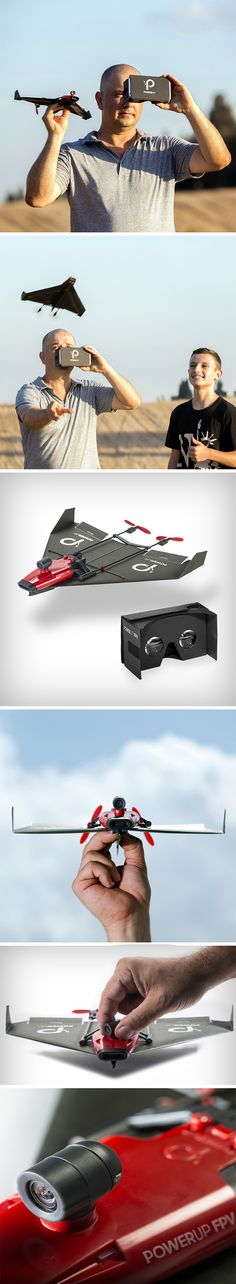 Imagine a drone with a camera and then imagine hooking that to a VR headset! The PlaneVR does precisely that! To give you more of an adrenaline rush, the drone is simply a propeller module with a mounted camera that attaches to a paper aircraft, propelling it forward, while a camera on the front gives you a live stream of what it feels like to have wings and soar across the sky!