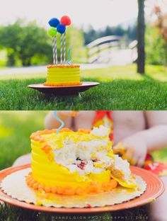 Cake smash » © Janel Gion Photography