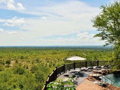Victoria Falls Safari Lodge The Victoria Falls Safari Lodge is set on a high plateau that forms the boundary of the unfenced Zambezi National Park and is only