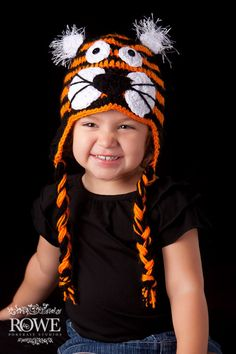 Hey, I found this really awesome Etsy listing at http://www.etsy.com/listing/82815012/tiger-hat-newborn-adult-sizes-clemson
