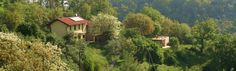 Agriturismo Verdita: Holiday apartments with jacuzzi in the garden - on the border Piemonte / Liguria (Italy) - www.verdita.com