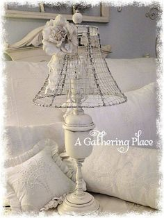 Shabby Chic Decor Easy Tips Tricks - Impressive concept for a truly appealing diy shabby chic lampshade Sophisticatedideas shared on this fun day 20181225 , note reference 3563369955 Rose Shabby Chic, Shabby Chic Lamp Shades, Shabby Chic Decor, Apartamento Shabby Chic, Deco Luminaire, Deco Retro, Lamp Makeover, Outdoor Light Fixtures, Outdoor Lighting