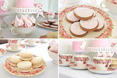 ruffles & pink desserts