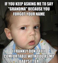 babysitter meme