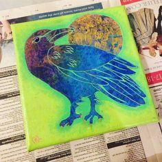 Friend by Melanie Jacobs of Aurynge & Lemony Original mixed media on wrapped canvas Friend 2, Wrapped Canvas, Mixed Media, The Originals, Artwork, Work Of Art, Mixed Media Art, Mix Media