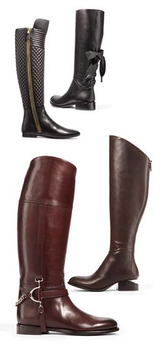 Complete the perfect fall ensemble with gorgeous riding boots.