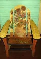 van gogh sunflower muskoka chair - Google Search