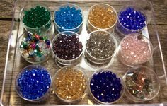 Multicolor Crystal Bead Assortment with Crystal by FlatCatGems