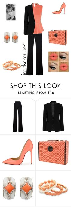 """""""Working Lady"""" by irockcrowns ❤ liked on Polyvore featuring Misha Nonoo, rag & bone, Christian Louboutin, Nicole Lee and BillyTheTree"""