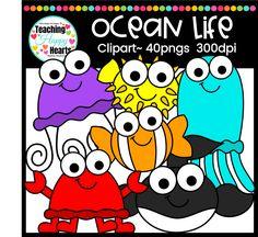 Ocean Life Clipart f