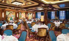 Grand Pacific main dining at the Norwegian Jade