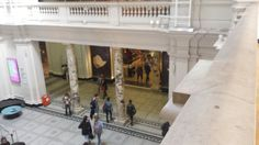 Entry into the main shop (V&A) looks more like a high end shopping arcade.