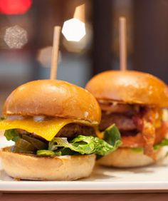 Here in the Bay, good burgers are a dime a dozen. But a spectacular, knock-you-off-your-feet version? That's a little harder to come by. Not to toot our own horns, but we consider ourselves experts in this heavenly sinful category, devouring these...