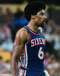 My first hero. Julius Dr.J. Erving