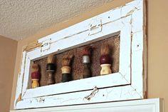 Old window display shelf