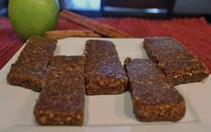 LaraBars--the apple kind! I LOVE these...and just need to find the cherry pie version!