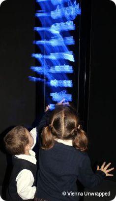 creating sound at Haus der Musik - activities for kids in Vienna