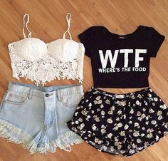 Best 50+ Cute Summer Outfits Ideas For Teens https://fashiotopia.com/2017/04/24/50-cute-summer-outfits-ideas-teens/ A wrap dress must be chosen with care because the incorrect print and design can merely mess up your look. Though nearly all of these dresses are foun...