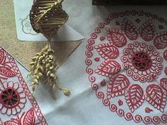 Contemporary (Detva, Slovakia) Czech Recipes, Gold Work, My Heritage, Bobbin Lace, Folk Art, Needlework, Embroidery, Holiday Decor, European Countries